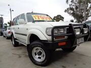 1994 Toyota Landcruiser FZJ80R GXL White 4 Speed Automatic Wagon Enfield Port Adelaide Area Preview