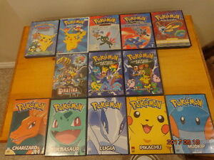 POKEMON DVDs:  13 DVDs for $10!