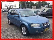 2005 Ford Territory SX Ghia (RWD) Blue 4 Speed Auto Seq Sportshift Wagon Jewells Lake Macquarie Area Preview