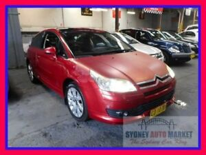 2007 Citroen C4 VTS Burgundy 5 Speed Manual Coupe