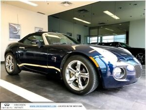 2007 Pontiac Solstice GXP/CONVERTIBLE/5 SPEED MANUAL