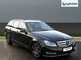 2013 Mercedes-Benz C Class C220 CDI BLUEEFFICIENCY AMG SPORT PLUS Diesel black A