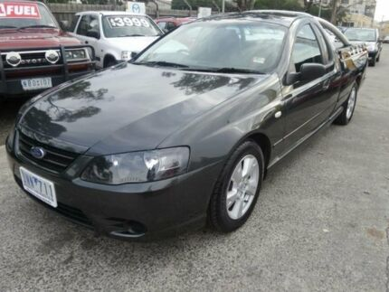 2006 Ford Falcon BF MkII XLS Grey 5 Speed Manual Utility Maidstone Maribyrnong Area Preview