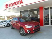 2014 Mitsubishi ASX XB MY14 (2WD) Red Continuous Variable Wagon Allawah Kogarah Area Preview