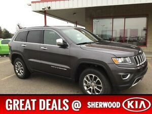 2016 Jeep Grand Cherokee 4WD LIMITED Accident Free,  Leather,  S