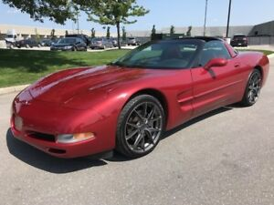 1998 CHEVROLET CORVETTE TARGA TOP|ACCIDENT FREE|LOW KMS|LEATHER!