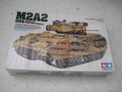 Tamiya M2 A2 ODS Infantry Fighting Vehicle NO 264 Isaacs Woden Valley Preview