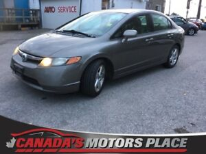 2008 Honda Civic Sdn LX LX - AUX IN, DIGITAL DISPLAY, 5 SPEED LX