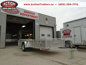 14' ALUMINUM UTILITY TRAILER -LIGHT WEIGHT AND BUILT TO LAST!! London Ontario image 1