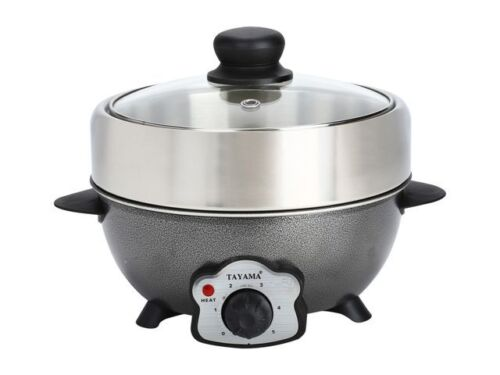 Tayama 2.2 Liter Multi-Cooker and BBQ Grill