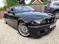 *** OUTSTANDING BMW 3.0 CI M SPORTS CONVERTIBLE HUGE SPECS FSH CAT D BARGAIN STRAIGHT CAR ***