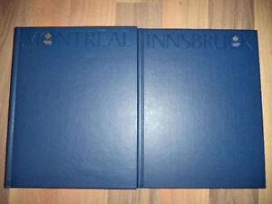 1976 Olympics boxed set of books Kitchener / Waterloo Kitchener Area image 2