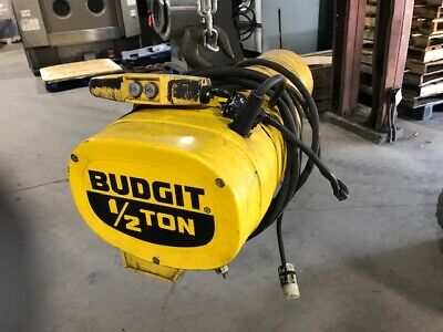 Budgit 12 Ton Electric Chain Hoist Behc5032