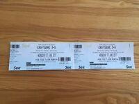 Kraftwerk tickets - Brighton June 7th - 2 pairs - very good seats