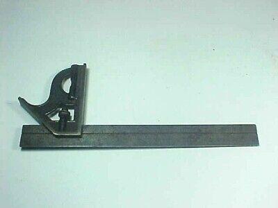 Vintage L.s. Starrett 12 Combination Rule Square Level