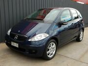 2007 Mercedes-Benz A170 W169 MY07 Classic Blue 7 Speed Constant Variable Hatchback Blair Athol Port Adelaide Area Preview