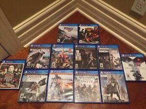 PS4 Games/ Jeux PS4 West Island Greater Montréal image 2