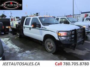 2015 Ford Super Duty F-350 DRW XLT with 9 FT Flat Deck