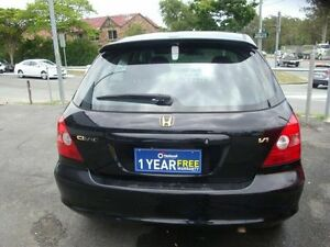 2002 Honda Civic 7TH GEN VI Black 4 Speed Automatic Hatchback Eight Mile Plains Brisbane South West Preview