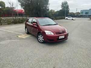 2006 Toyota Corolla ZZE122R 5Y Ascent Burgundy 4 Speed Automatic Hatchback Mile End South West Torrens Area Preview