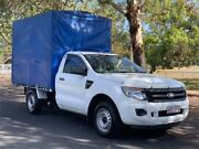 2012 Ford Ranger PX XL White Manual Cab Chassis Slacks Creek Logan Area Preview