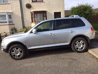 VW TOUAREG ( with good service history)