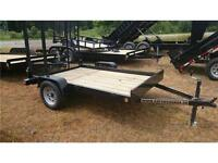 WINTER CLEARANCE**  2016 NEW 5X8 UTILITY FLATBED TRAILER