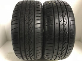 F236 2X225/50/16 92W/V FIRESTONE FIREHAWK SZ90M 2X8MM TREAD DOT 5110 0813