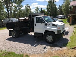GMC 7500 Series Single All Dump