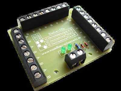 Stromverteiler 12-fach mit Schraubklemmen und Status-LEDs NEU