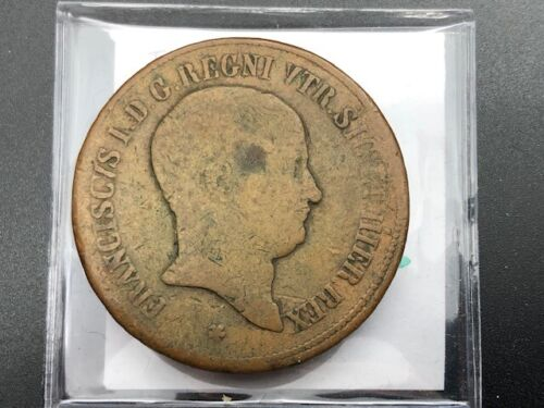 1826 - Naples and Sicily - 10 Tornesi
