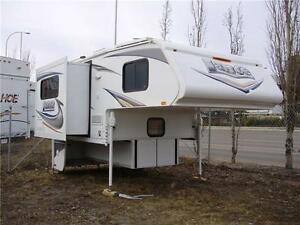 CAMPER for SHORT BOX, WINTER PKG,SOLAR, SLIDE $118 b/w (oac)!
