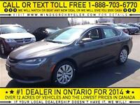 2015 CHRYSLER 200 LX - $52/WEEK+TX - WINDSORCHRYSLER.COM