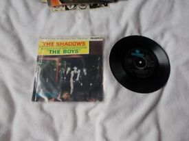 Vinyl 7in EP The Boys – The Shadows Columbia SEG 8193