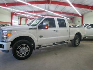 2015 Ford F-350 Platinum Diesel Local Fully Loaded We Finance