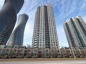 Mississauga Luxury Condos for Rent 2 Bedrooms 2 Baths! Square 1