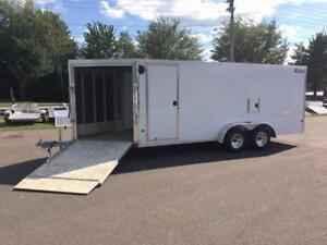 NEW 2019 XPRESS 7' x 23' IN-LINE ENCLOSED SNOW TRAILER