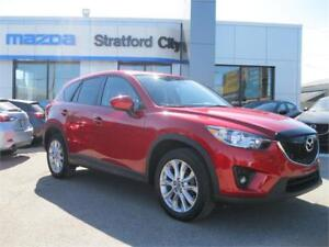 2015 Mazda CX-5 GT TECH LEATHER! LEASE RETURN!