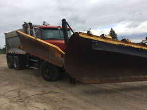 1998 Volvo Plow Truck with Sander box! Runs great!