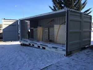20ft Full Side-Open Container ~ brand new, one-trip 6 door Cambridge Kitchener Area image 4
