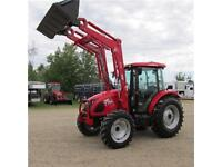 New 2015 TYM 754 Tractor with 75 HP DEUTZ Engine and Cab
