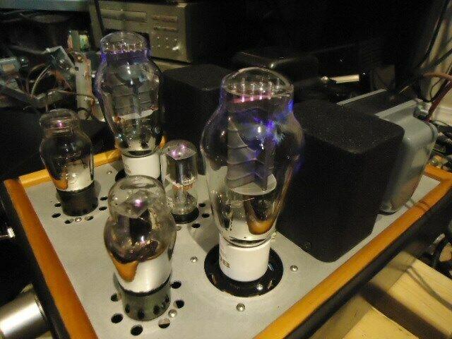Handmade 300B Single Ended Tube Amplifier