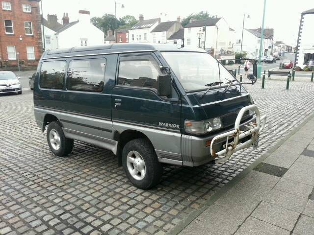 1992 mitsubishi l300 delica 4wd auto star wagon 7 seater 4x4 camper in preston. Black Bedroom Furniture Sets. Home Design Ideas