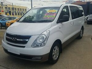 2014 Hyundai iMAX TQ MY13 White 4 Speed Automatic Wagon Five Dock Canada Bay Area Preview
