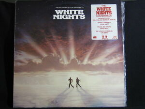 White-Nights-Film-Soundtrack-33-lp-Record-Album-Lou-Reed-Phil-Collins-1985