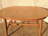 Ikea Leksvik solid pine dining table excellent condition