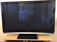 44inch x 25inch (110cm x 62cm) Panasonic TV with Humax Freeview+HD Box