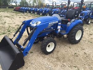 New Holland Boomer 24 tractor- ONE 2016 LEFT