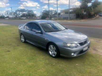 2005 Ford Falcon BA MkII XR6 Grey 4 Speed Auto Seq Sportshift Sedan Wangara Wanneroo Area Preview
