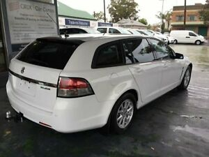 2013 Holden Commodore VF MY14 Evoke White Auto Sports Mode Wagon Hamilton Newcastle Area Preview